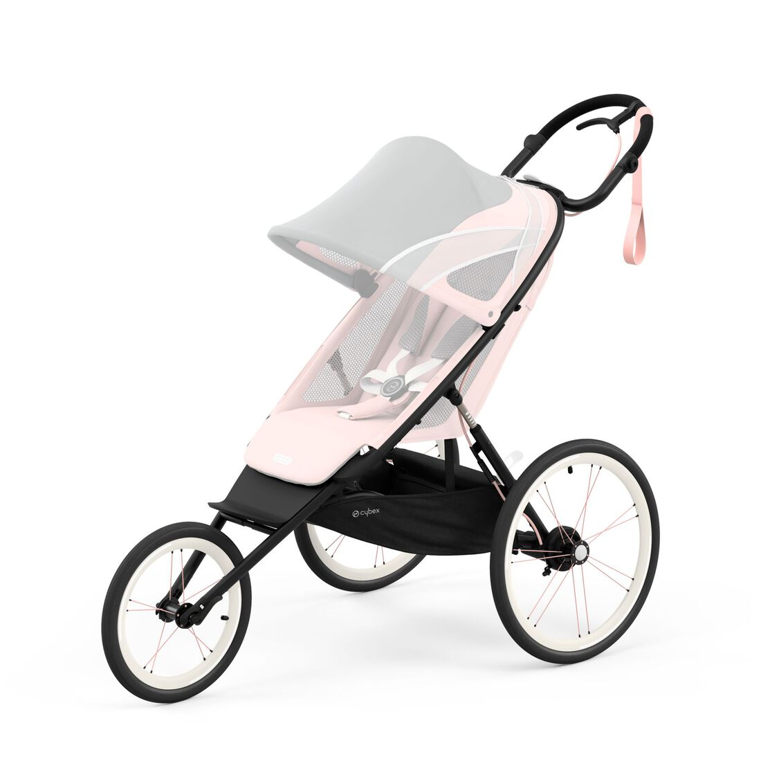 CYBEX Avi Frame - Black With Pink Details in Black With Pink Details large image number 2