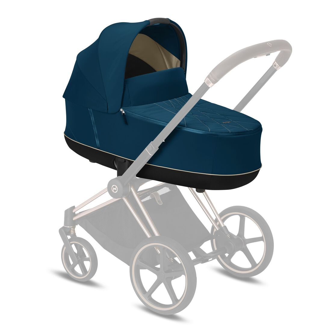 CYBEX Priam Lux Carry Cot - Mountain Blue in Mountain Blue large image number 5