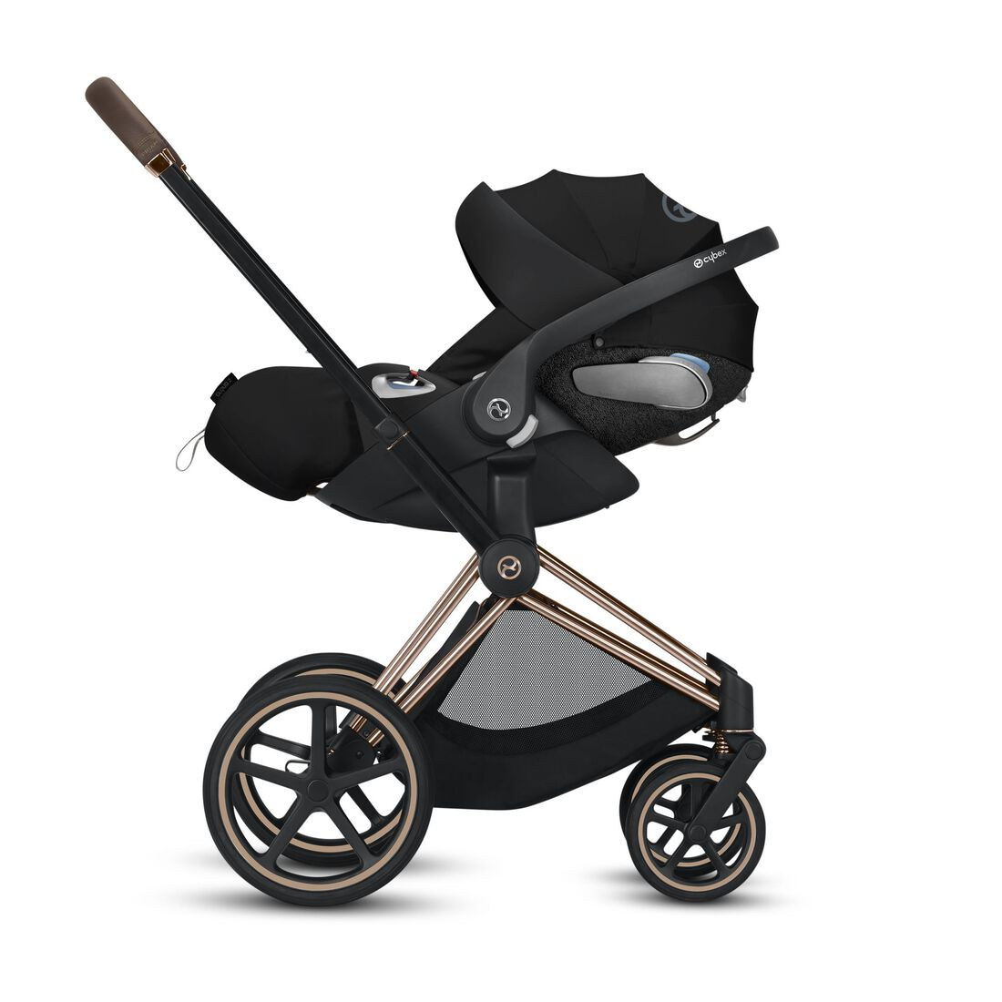 CYBEX Configure Priam Set: Frame, Lux Carry Cot, Cloud Z i-Size, Seat Pack in  large image number 3