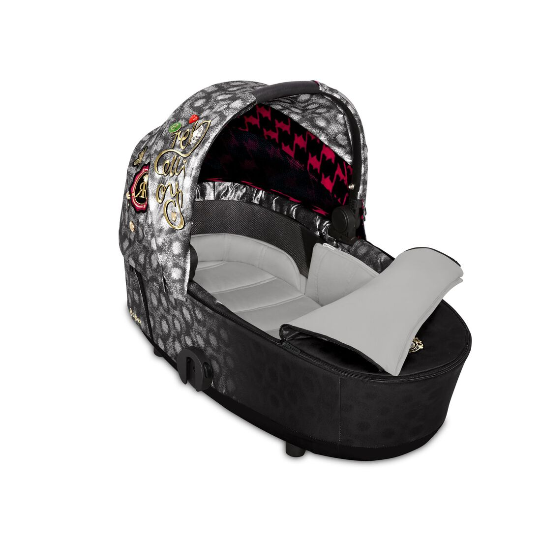 CYBEX Mios Lux Carry Cot - Rebellious in Rebellious large image number 2