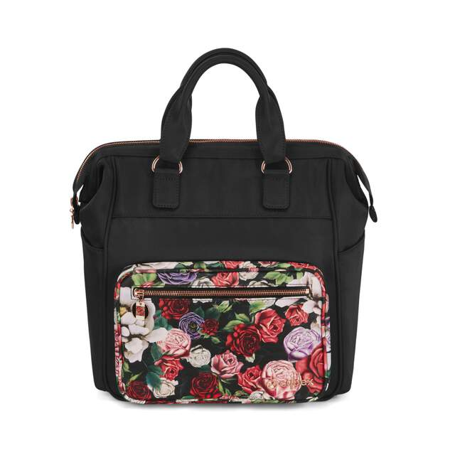 Changing Bag Stroller  - Spring Blossom Dark