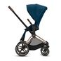 CYBEX Priam Seat Pack - Mountain Blue in Mountain Blue large image number 2 Small