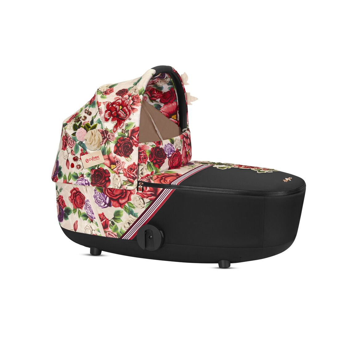 CYBEX Mios Lux Carry Cot - Spring Blossom Light in Spring Blossom Light large image number 1