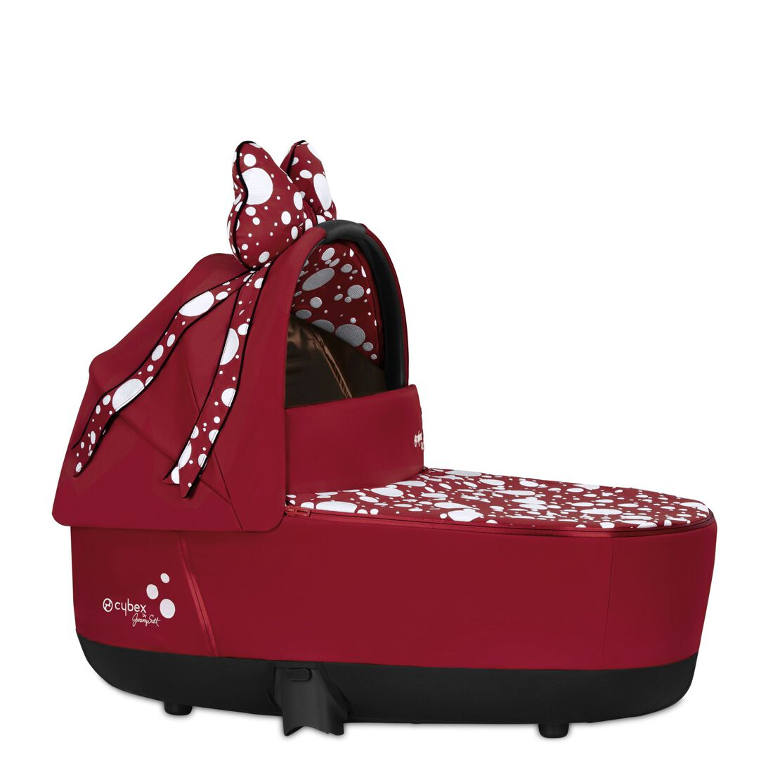 CYBEX Priam Lux Carry Cot - Petticoat Red in Petticoat Red large image number 1