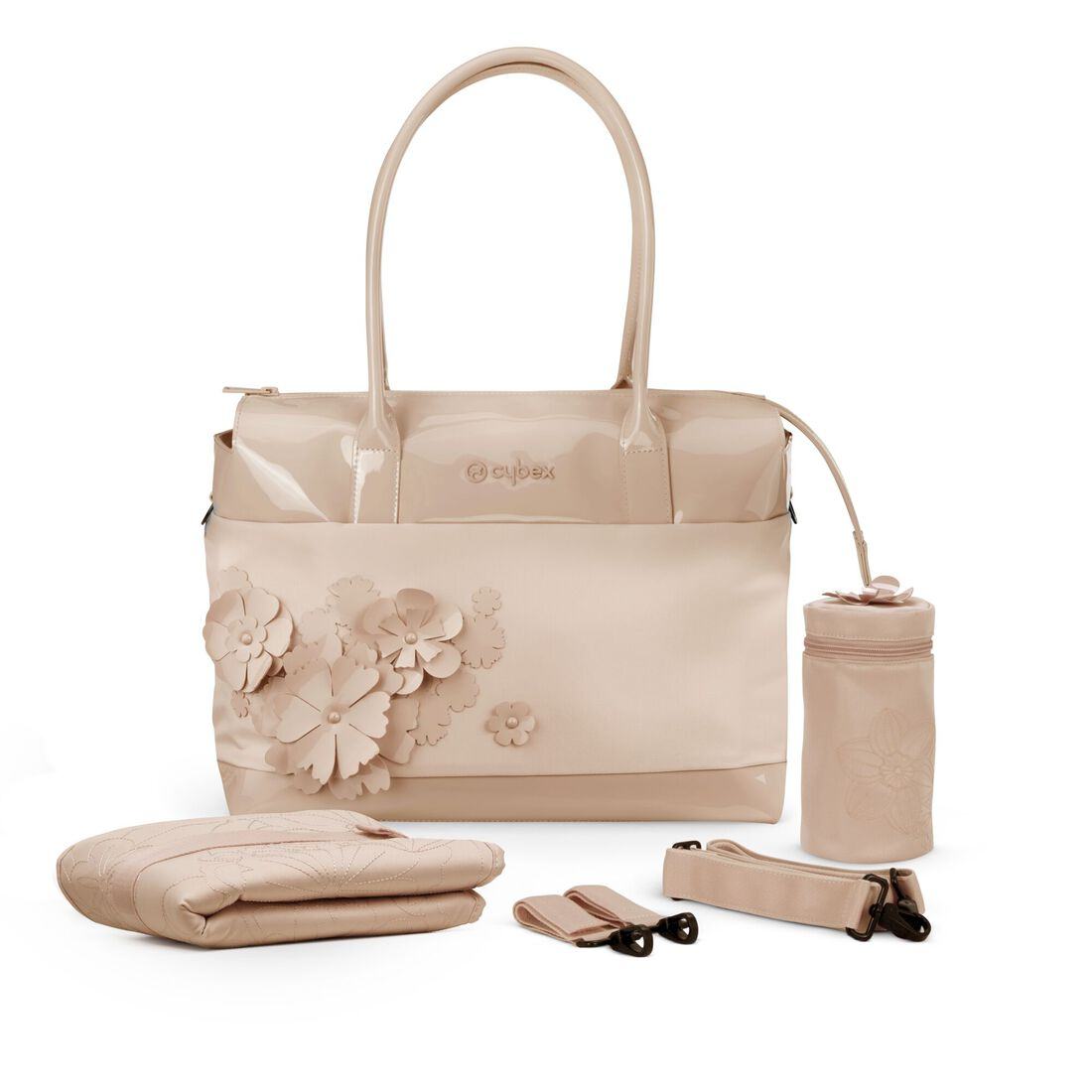 CYBEX Changing Bag Simply Flowers - Nude Beige in Nude Beige large image number 3