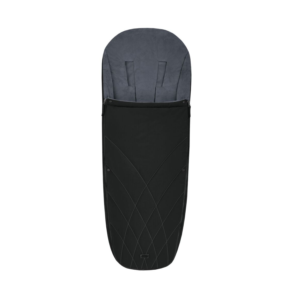 CYBEX Platinum Footmuff - Deep Black in Deep Black large image number 1