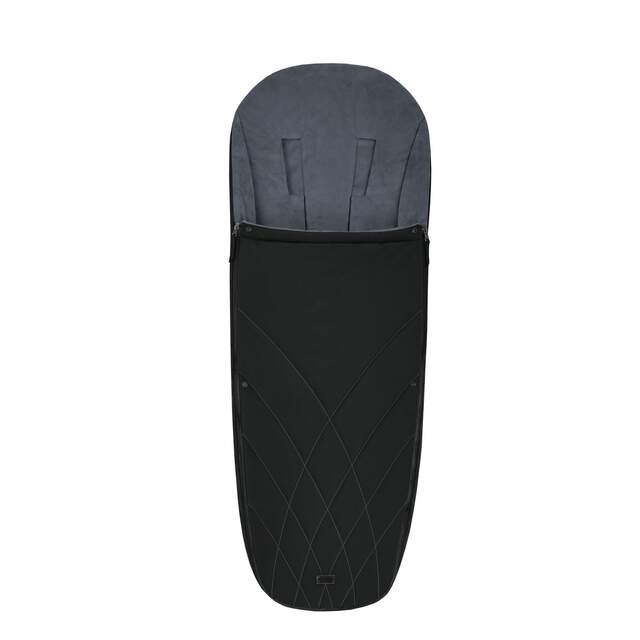Platinum Footmuff - Deep Black
