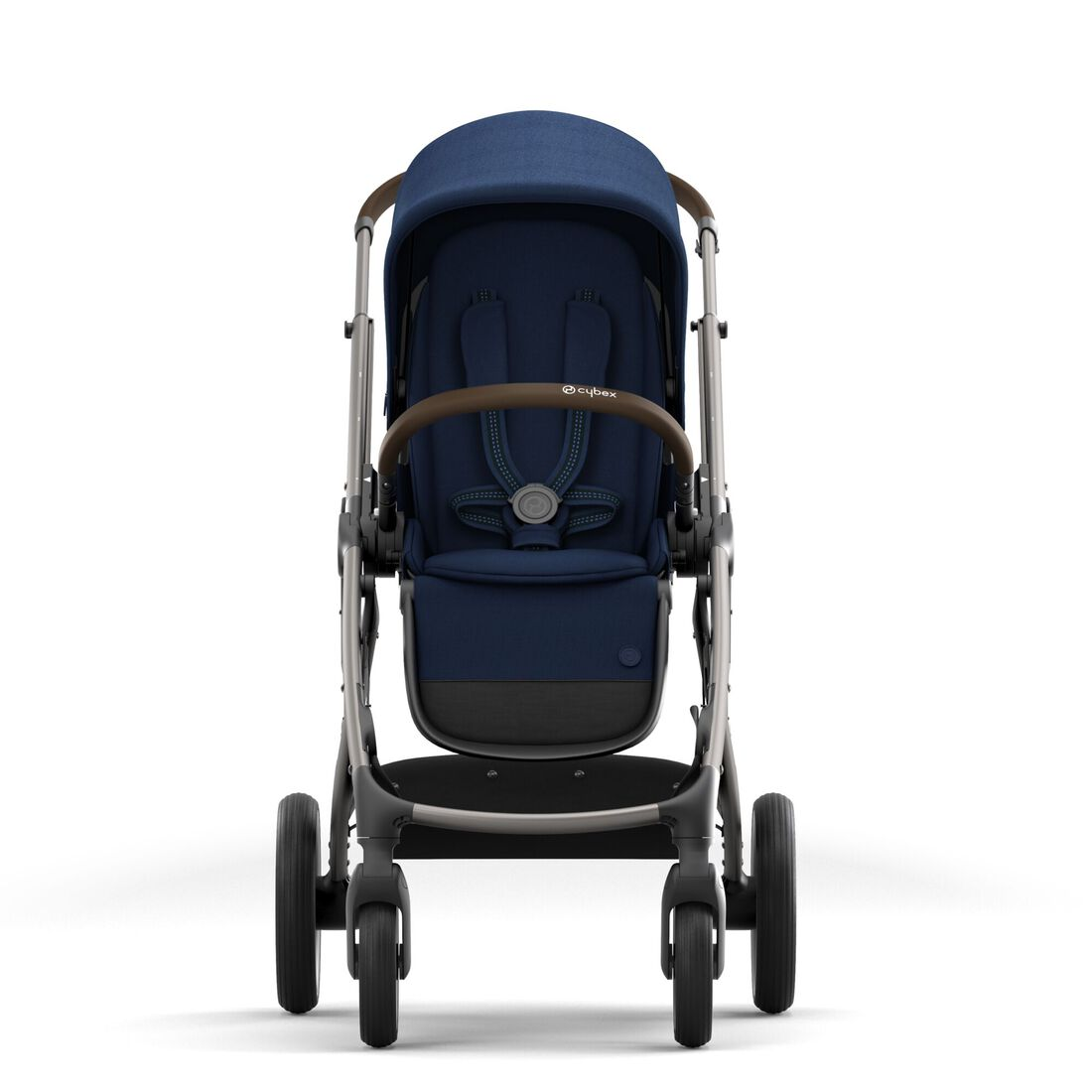 CYBEX Gazelle S - Navy Blue (Taupe Frame) in Navy Blue (Taupe Frame) large image number 5