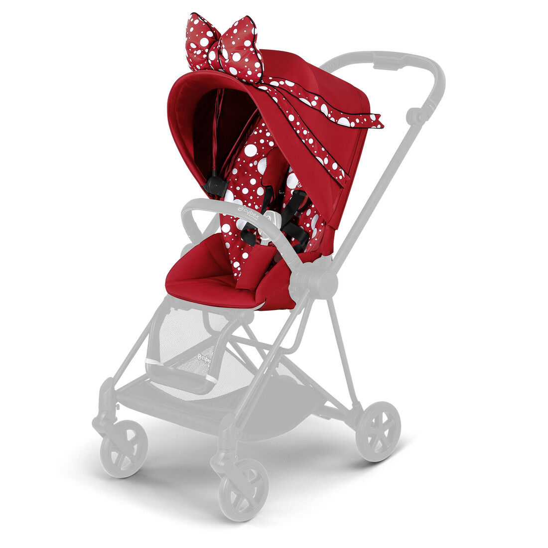 CYBEX Mios Sitzpaket - Petticoat Red in Petticoat Red large Bild 1