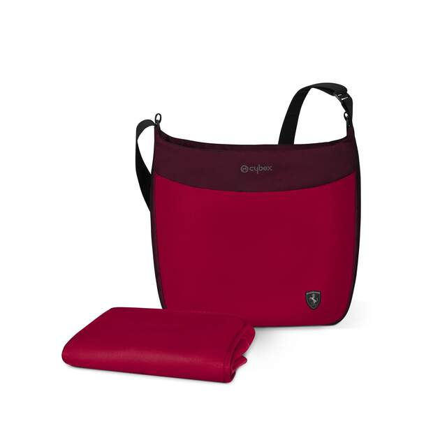 Wickeltasche - Ferrari Racing Red