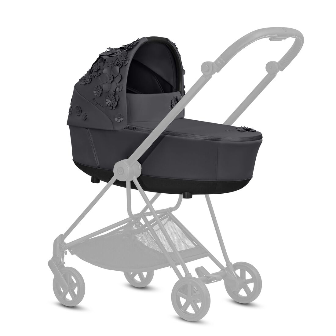 CYBEX Mios Lux Carry Cot - Dream Grey in Dream Grey large image number 4