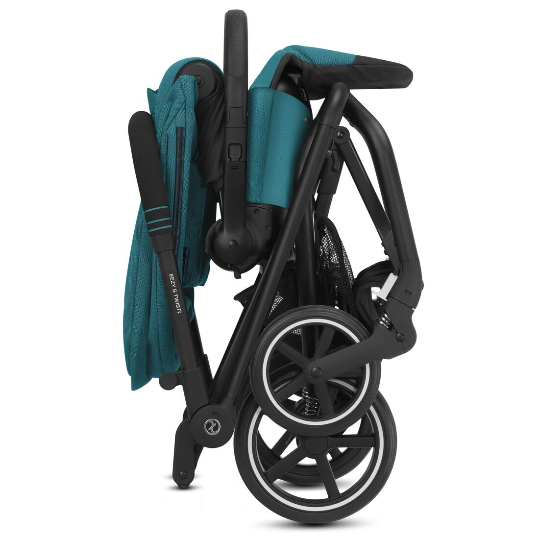 CYBEX Eezy S Twist+2 - River Blue (Schwarzer Rahmen) in River Blue (Black Frame) large Bild 5