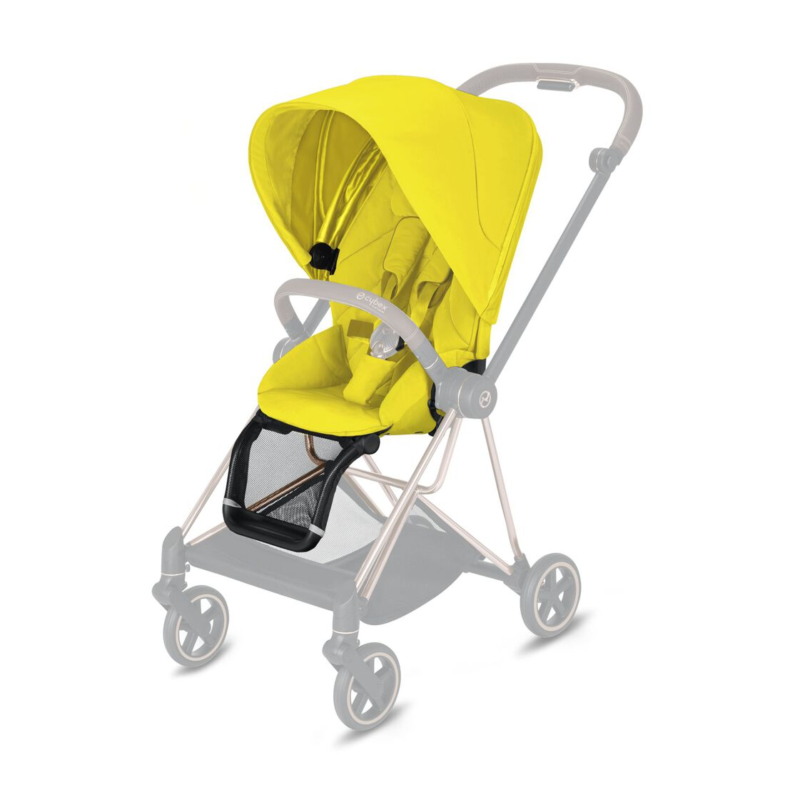 CYBEX Mios Seat Pack - Mustard Yellow in Mustard Yellow large image number 1