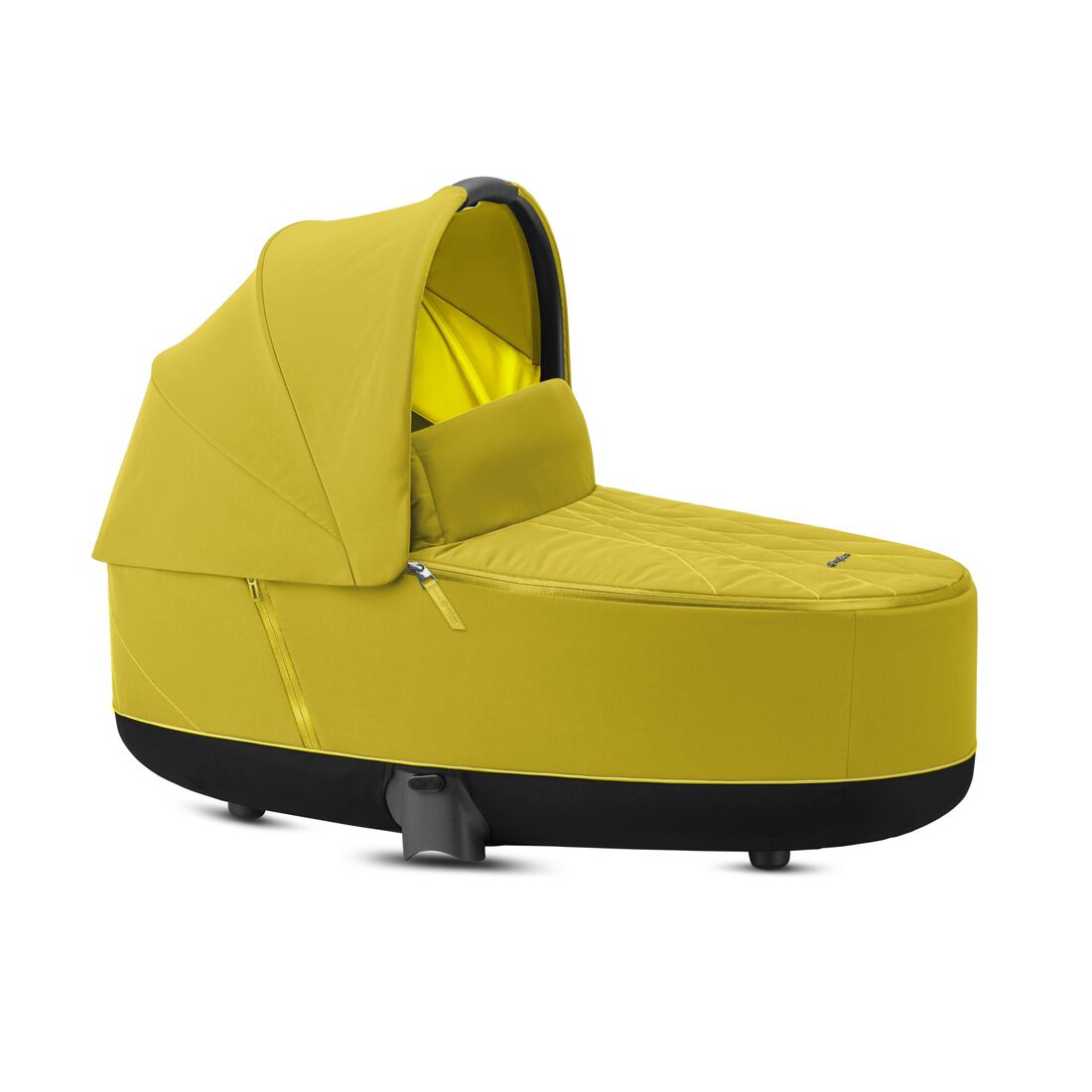 CYBEX Priam Lux Carry Cot - Mustard Yellow in Mustard Yellow large image number 1