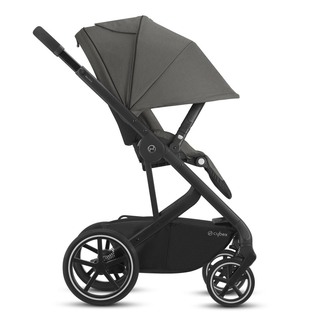 CYBEX Balios S Lux - Soho Grey (Schwarzer Rahmen) in Soho Grey (Black Frame) large Bild 5