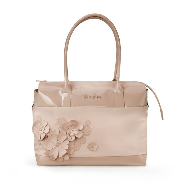 Changing Bag Simply Flowers - Nude Beige