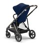 CYBEX Gazelle S - Navy Blue (Taupe Frame) in Navy Blue (Taupe Frame) large image number 8 Small
