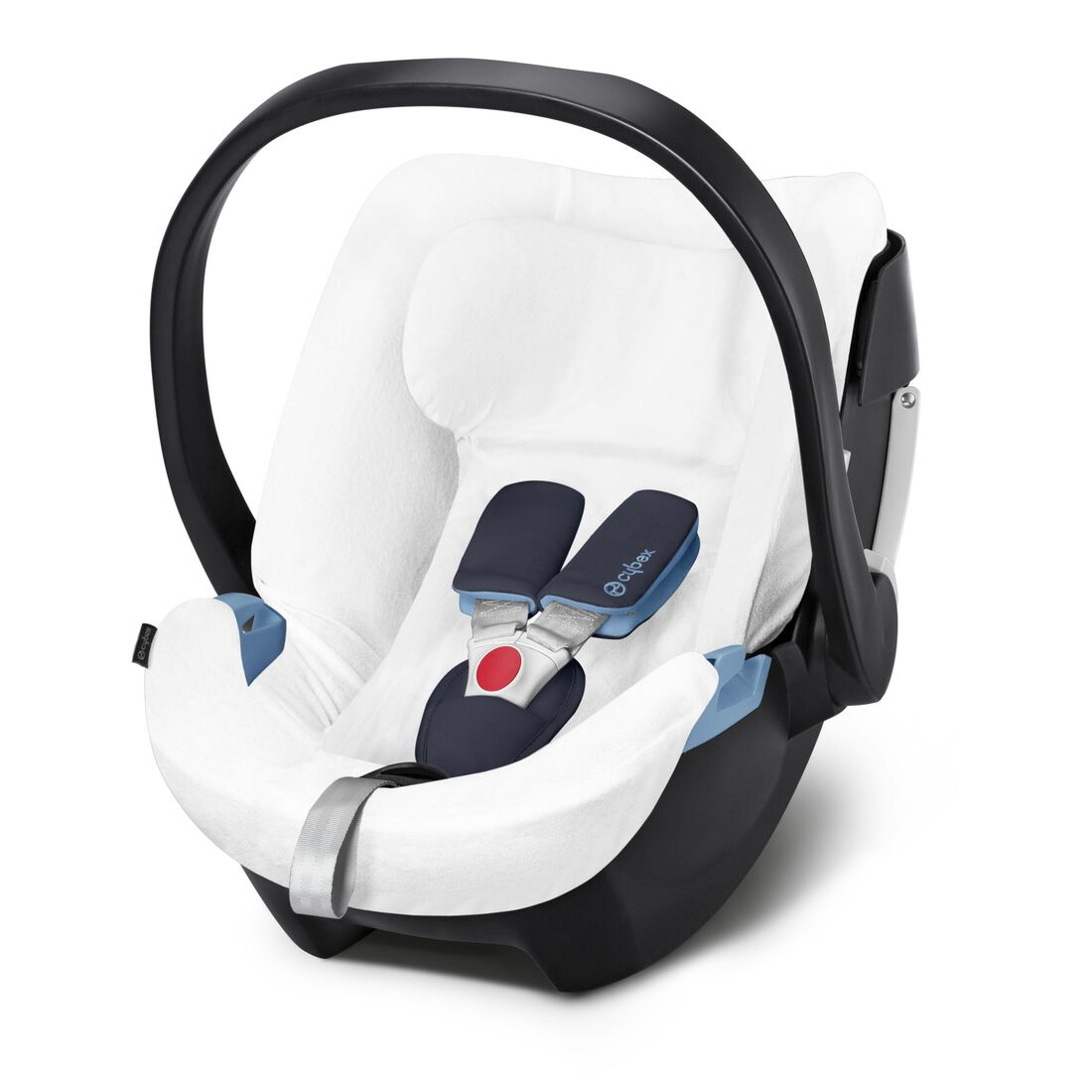 CYBEX Summer Cover Aton 5 - White in White large image number 1