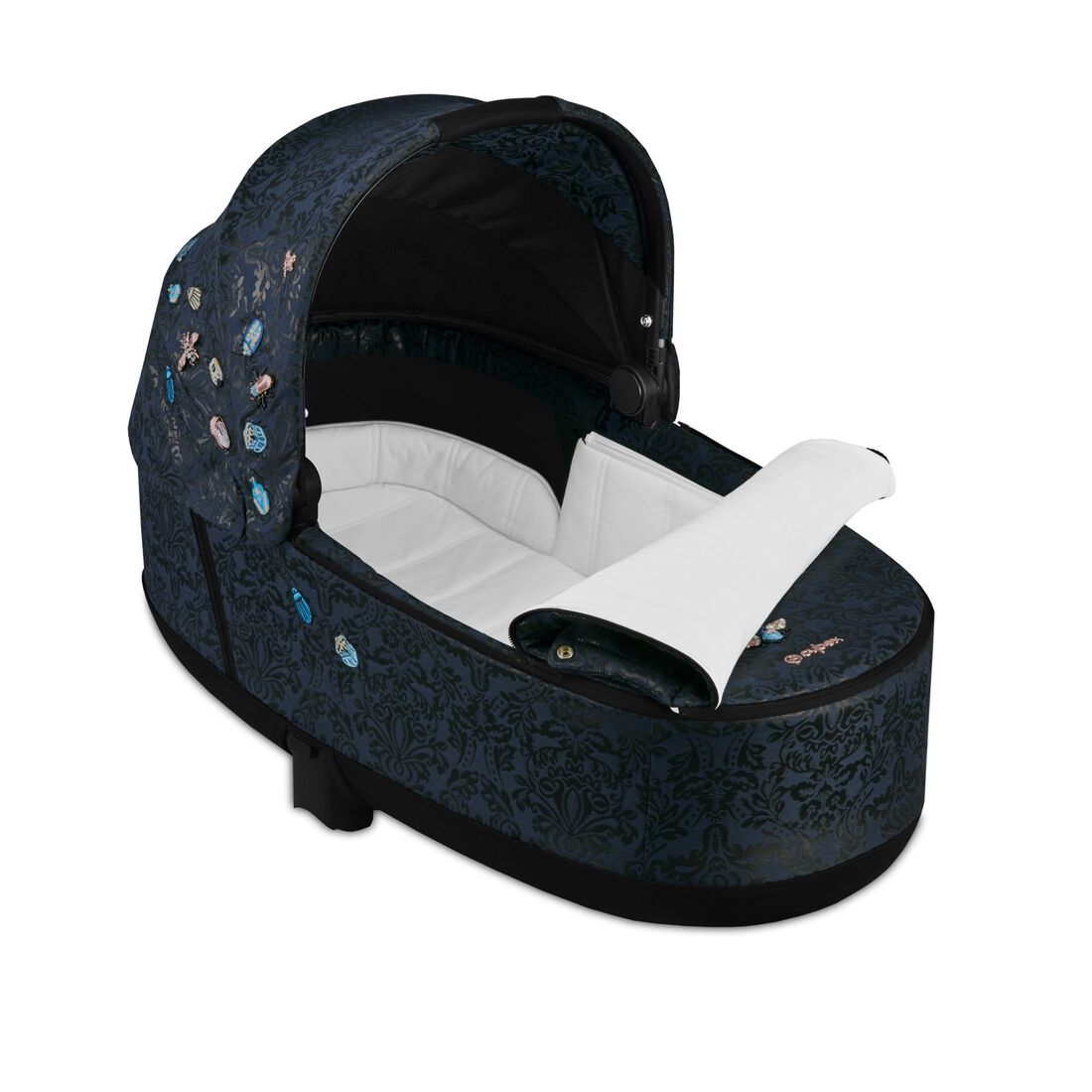 CYBEX Priam Lux Carry Cot - Jewels of Nature in Jewels of Nature large image number 2