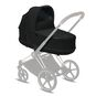 CYBEX Priam Lux Carry Cot - Deep Black in Deep Black large image number 5 Small