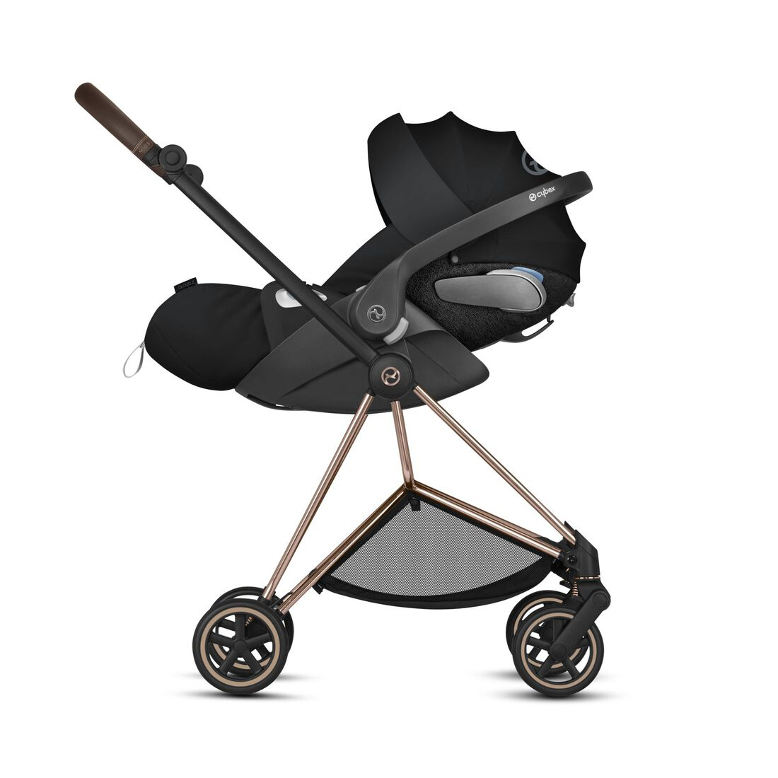 CYBEX Configure Mios Set: Frame, Lux Carry Cot, Cloud Z i-Size, Seat Pack in  large image number 3