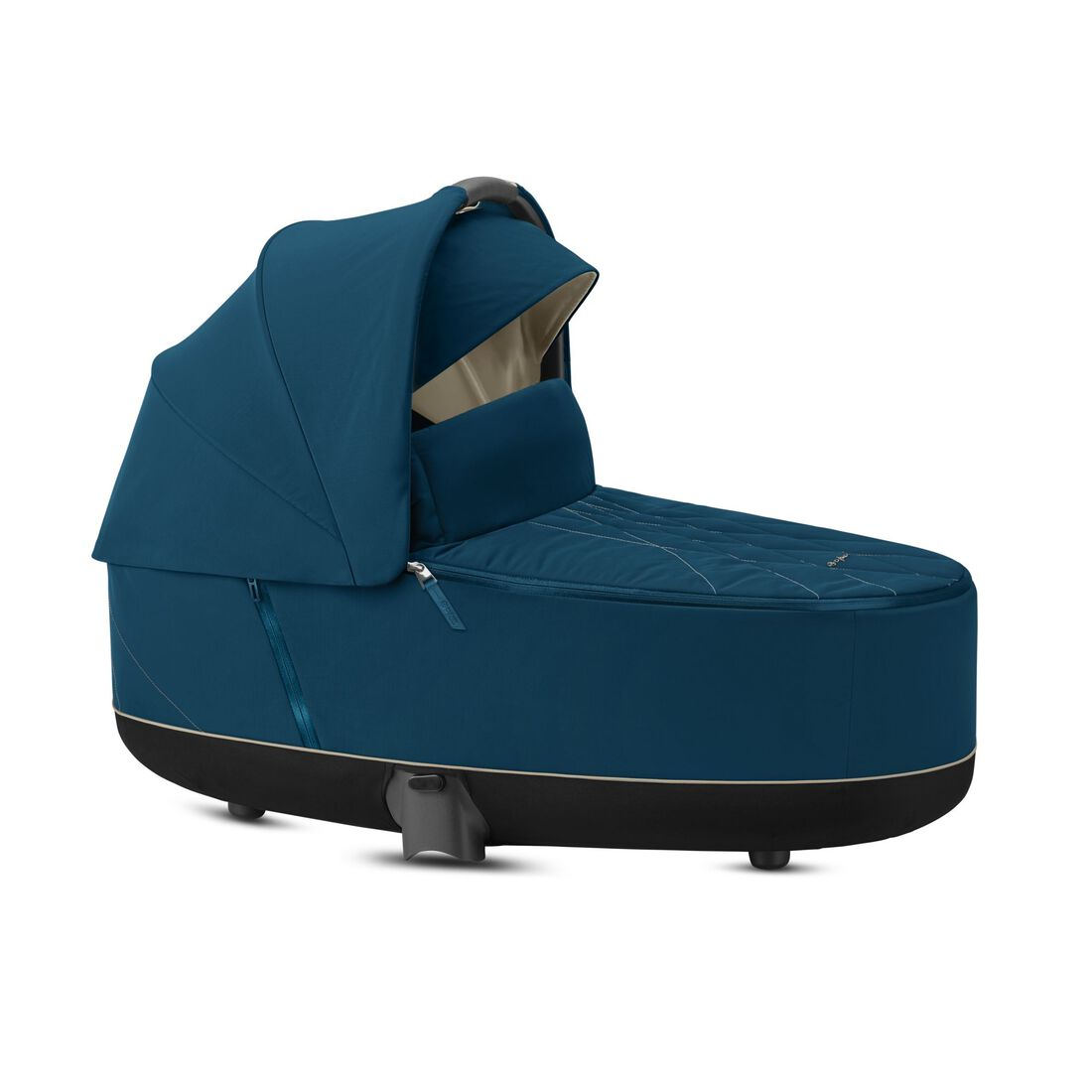 CYBEX Priam Lux Carry Cot - Mountain Blue in Mountain Blue large image number 2