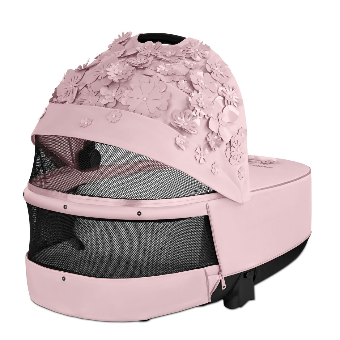 CYBEX Priam Lux Carry Cot - Pale Blush in Pale Blush large image number 4