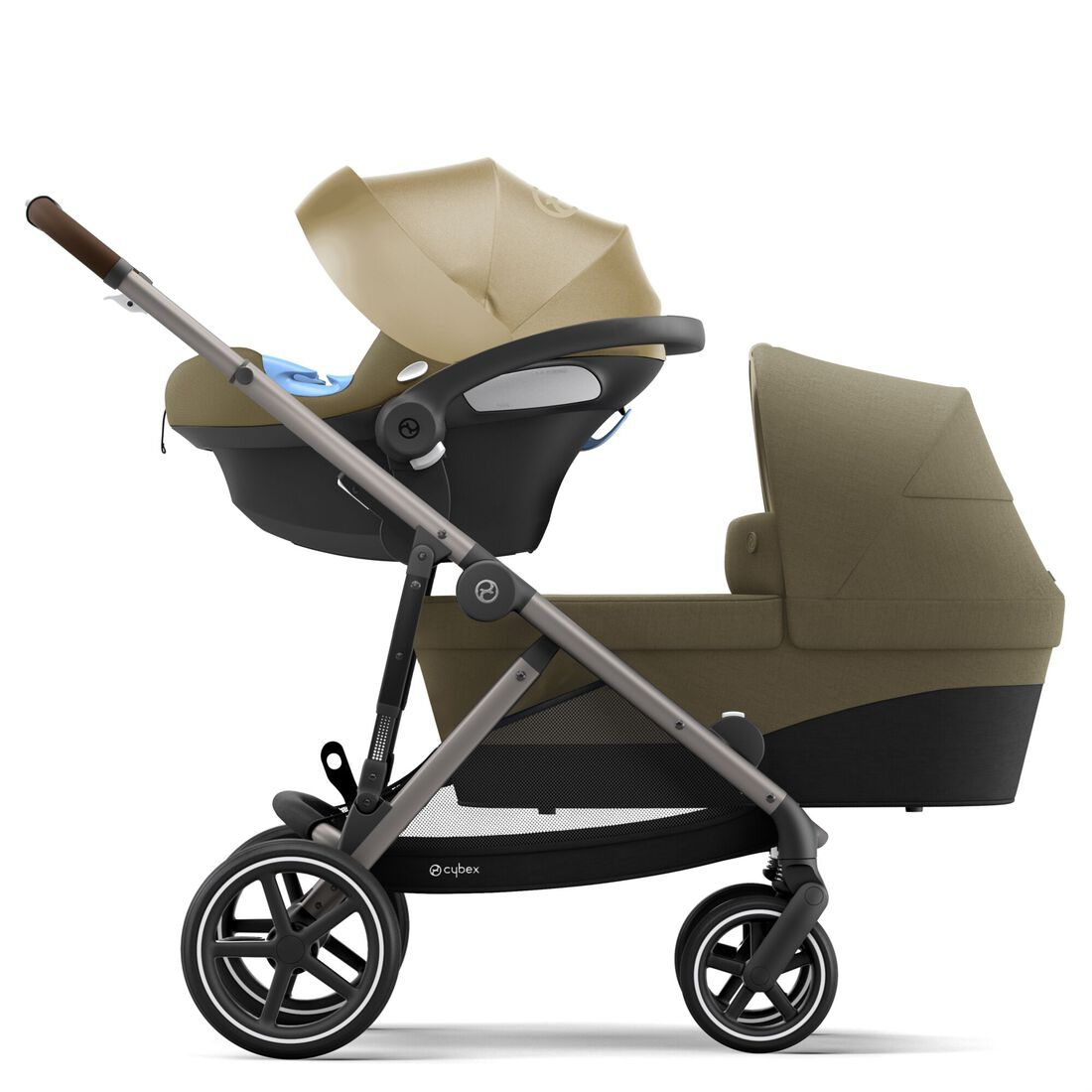 CYBEX Gazelle S - Classic Beige (Taupe Frame) in Classic Beige (Taupe Frame) large image number 3