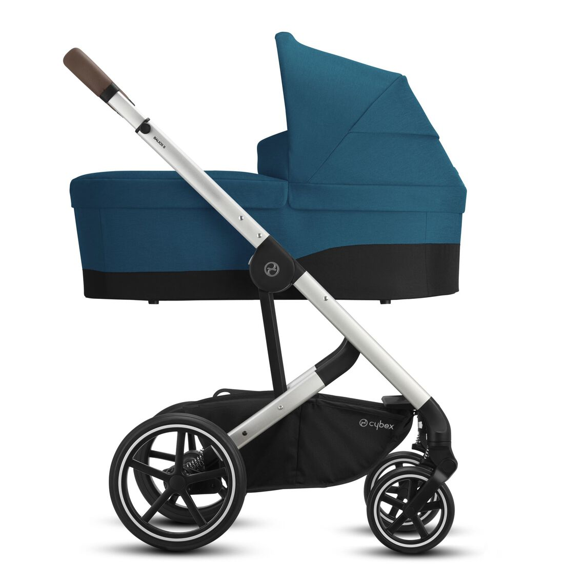CYBEX Balios S Lux - River Blue (Silver Frame) in River Blue (Silver Frame) large image number 2