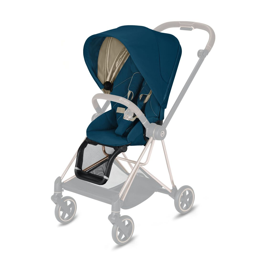CYBEX Mios Seat Pack - Mountain Blue in Mountain Blue large image number 1