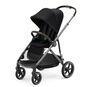 CYBEX Gazelle S - Deep Black (Taupe Frame) in Deep Black (Taupe Frame) large image number 4 Small