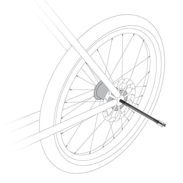 Thru Axle 154 - 172mm (M12 x 1.0)