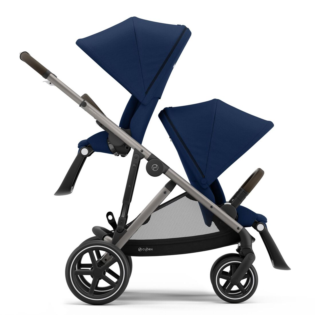 CYBEX Gazelle S - Navy Blue (Taupe Frame) in Navy Blue (Taupe Frame) large image number 2