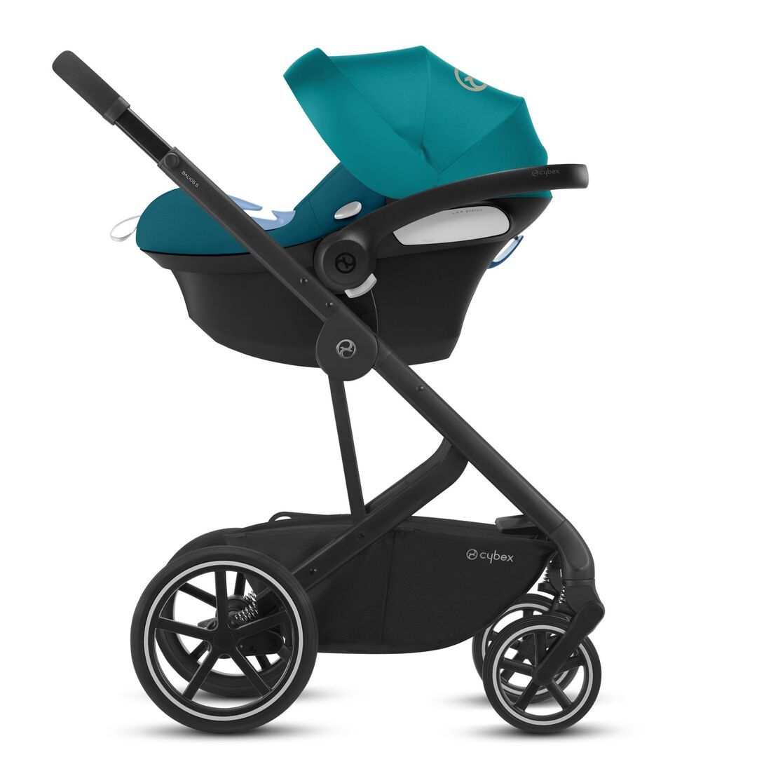 CYBEX Balios S Lux - River Blue (Black Frame) in River Blue (Black Frame) large image number 3