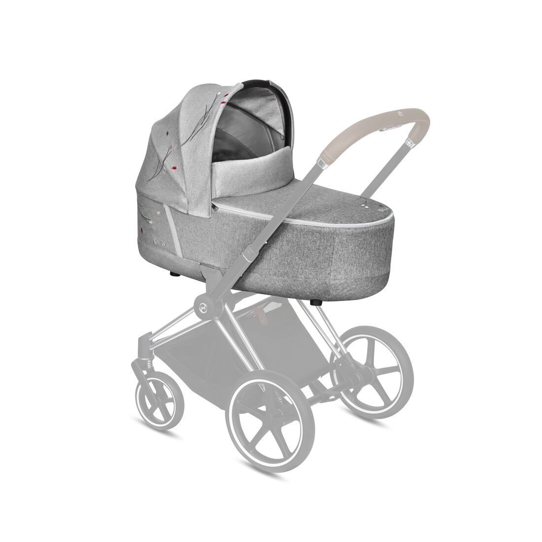 CYBEX Priam Lux Carry Cot - Koi in Koi large image number 4