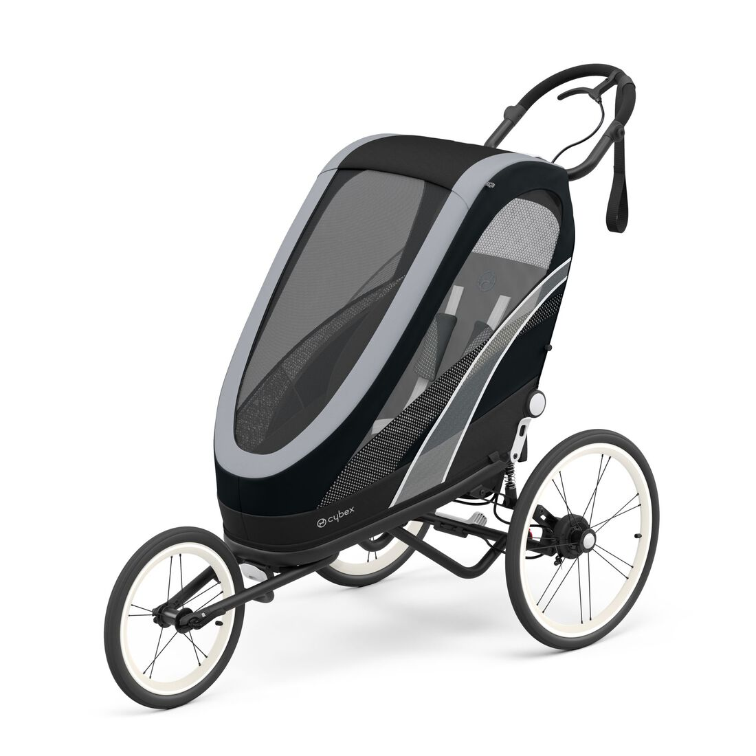 CYBEX Zeno Seat Pack - All Black in All Black large image number 2