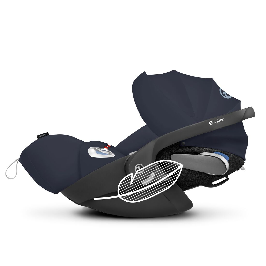 CYBEX Cloud Z i-Size - Nautical Blue Plus in Nautical Blue Plus large image number 1