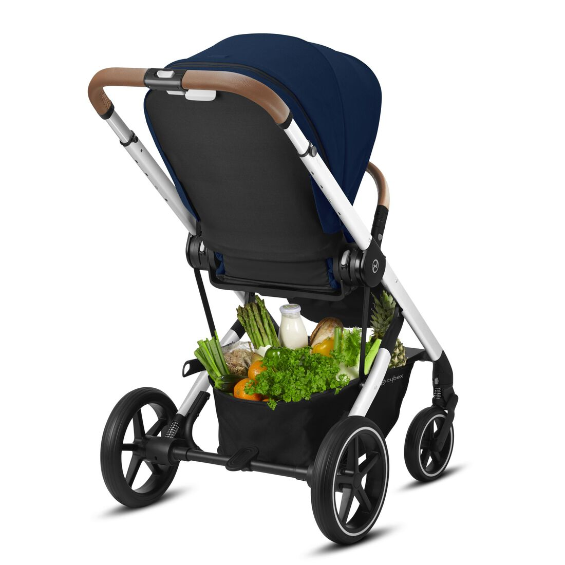 CYBEX Balios S Lux - Navy Blue (Silver Frame) in Navy Blue (Silver Frame) large image number 6
