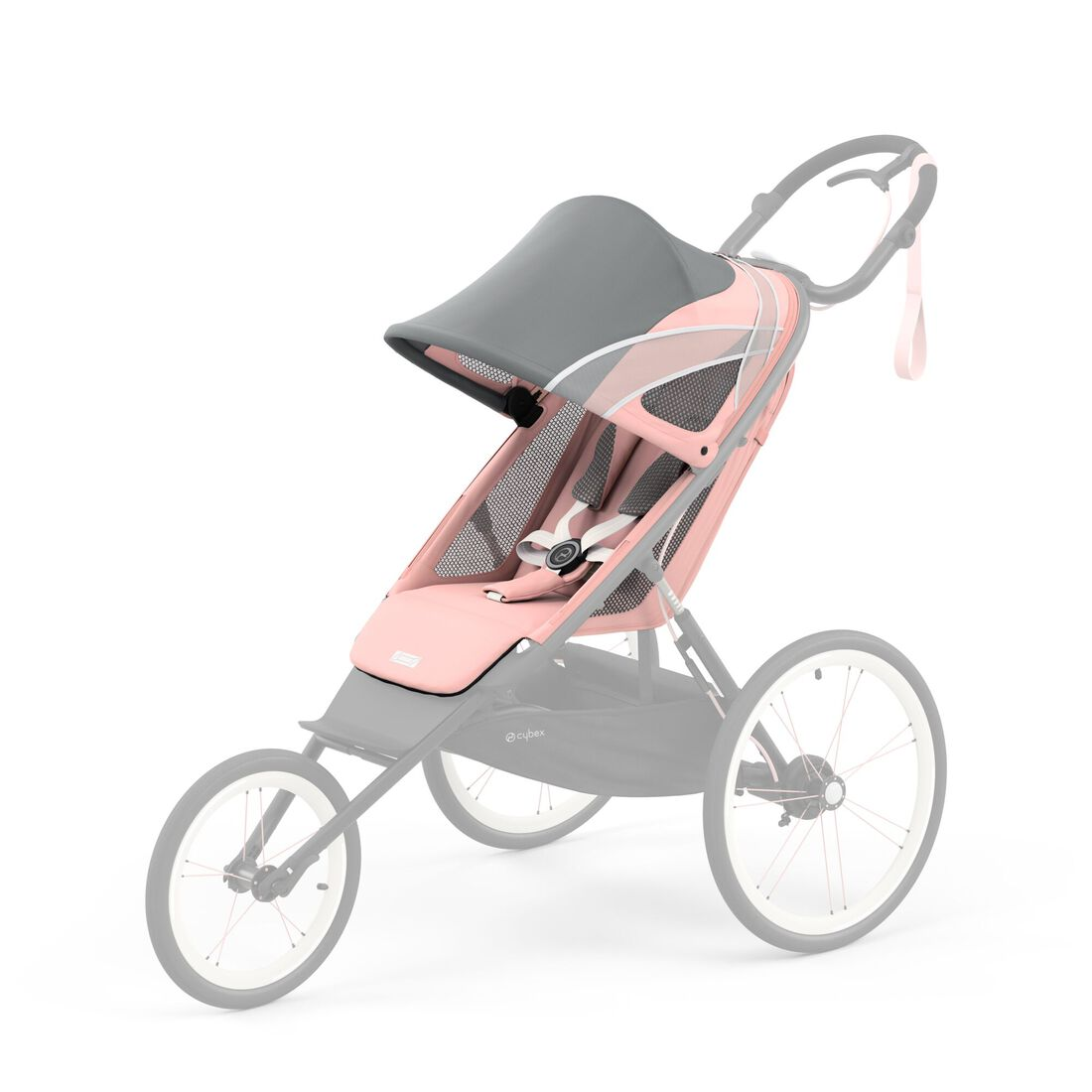 CYBEX Avi Seat Pack - Silver Pink in Silver Pink large image number 1