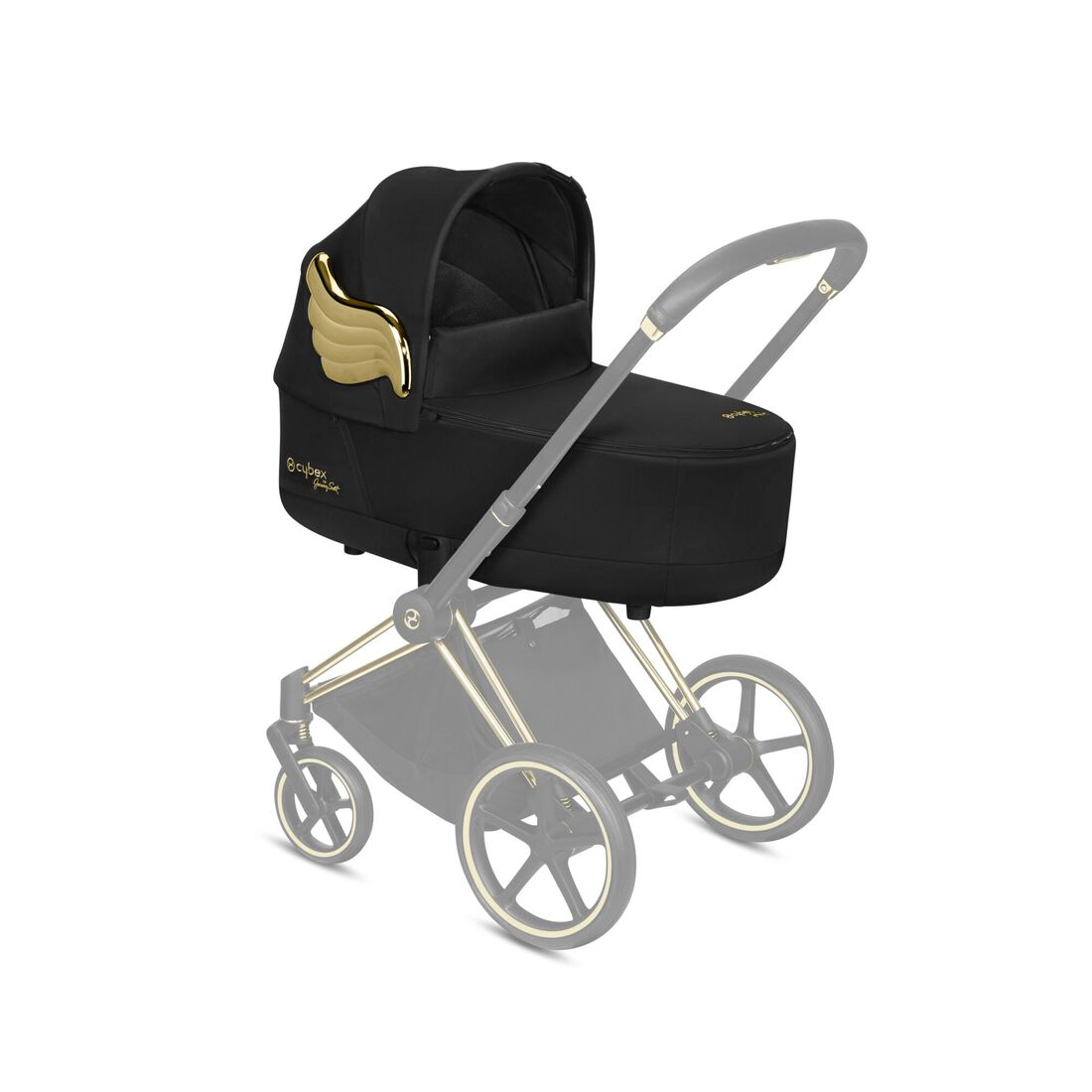 CYBEX Priam Lux Carry Cot - Wings in Wings large image number 4