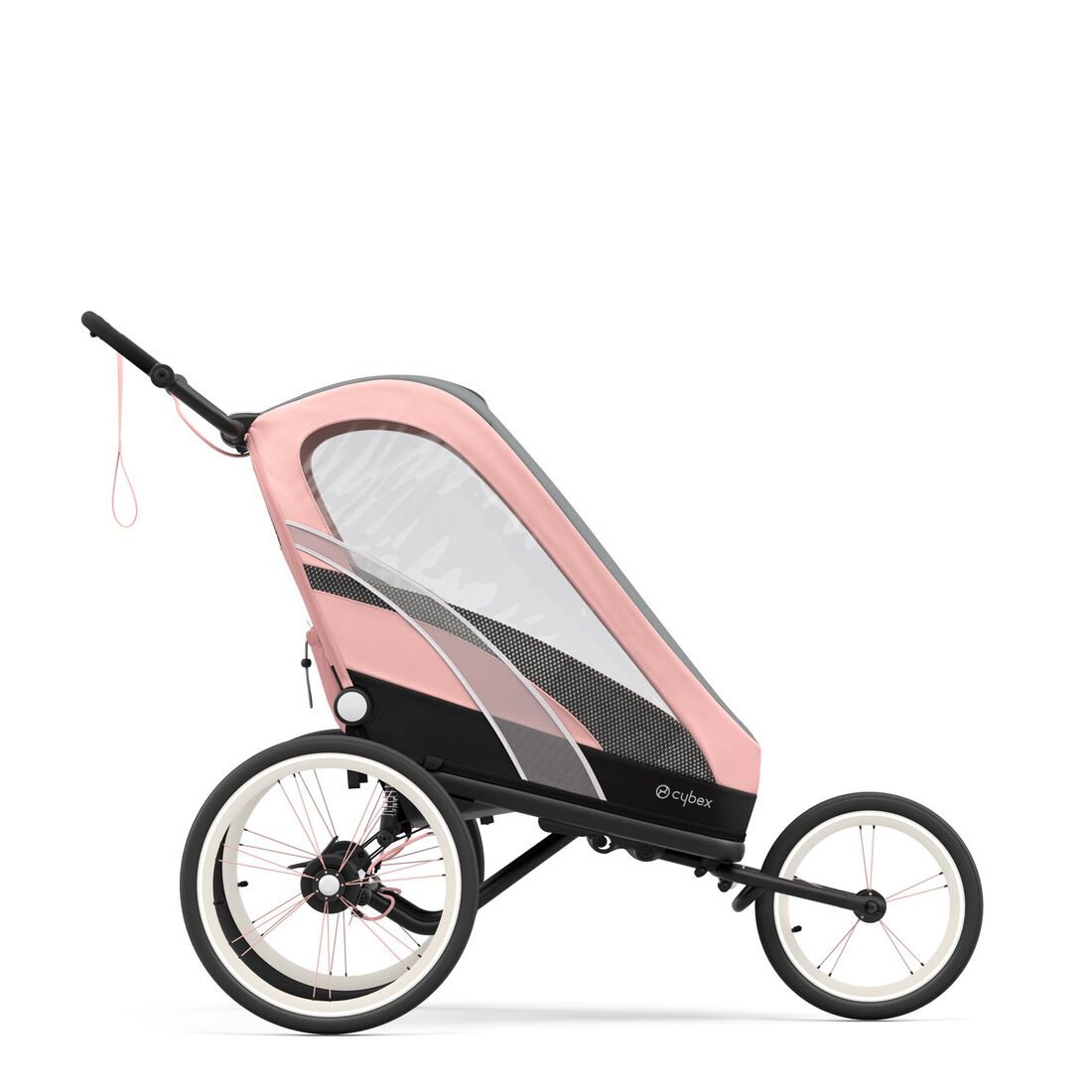 CYBEX Zeno Frame - Black With Pink Details in Black With Pink Details large image number 4