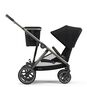 CYBEX Gazelle S - Deep Black (Taupe Frame) in Deep Black (Taupe Frame) large image number 7 Small