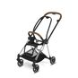 CYBEX Mios Rahmen - Chrome With Brown Details in Chrome With Brown Details large Bild 1 Klein
