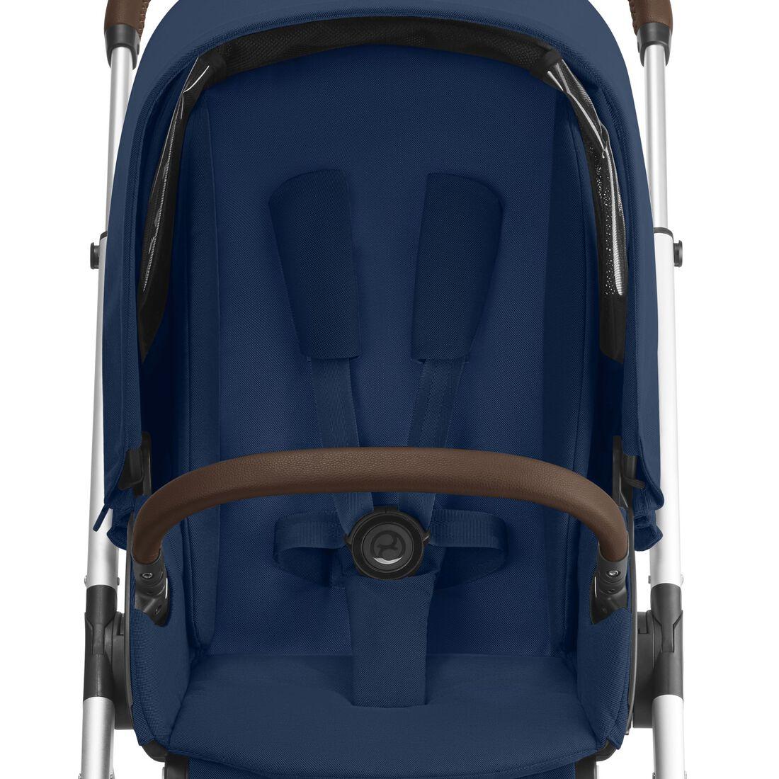 CYBEX Talos S Lux - Navy Blue (Silberner Rahmen) in Navy Blue (Silver Frame) large Bild 3
