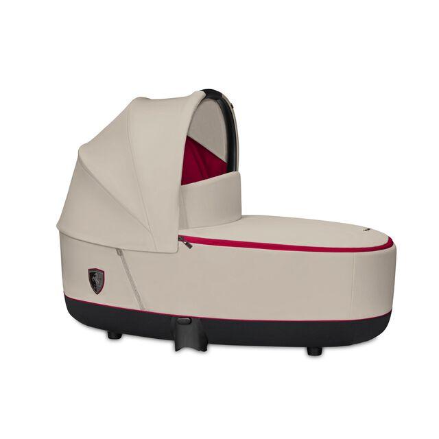 Priam Lux Carry Cot - Ferrari Silver Grey
