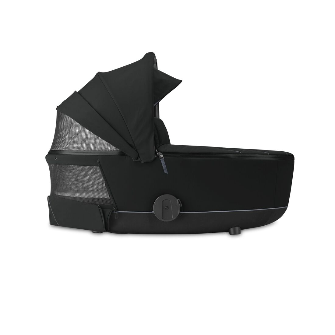 CYBEX Mios Lux Carry Cot - Deep Black in Deep Black large image number 3