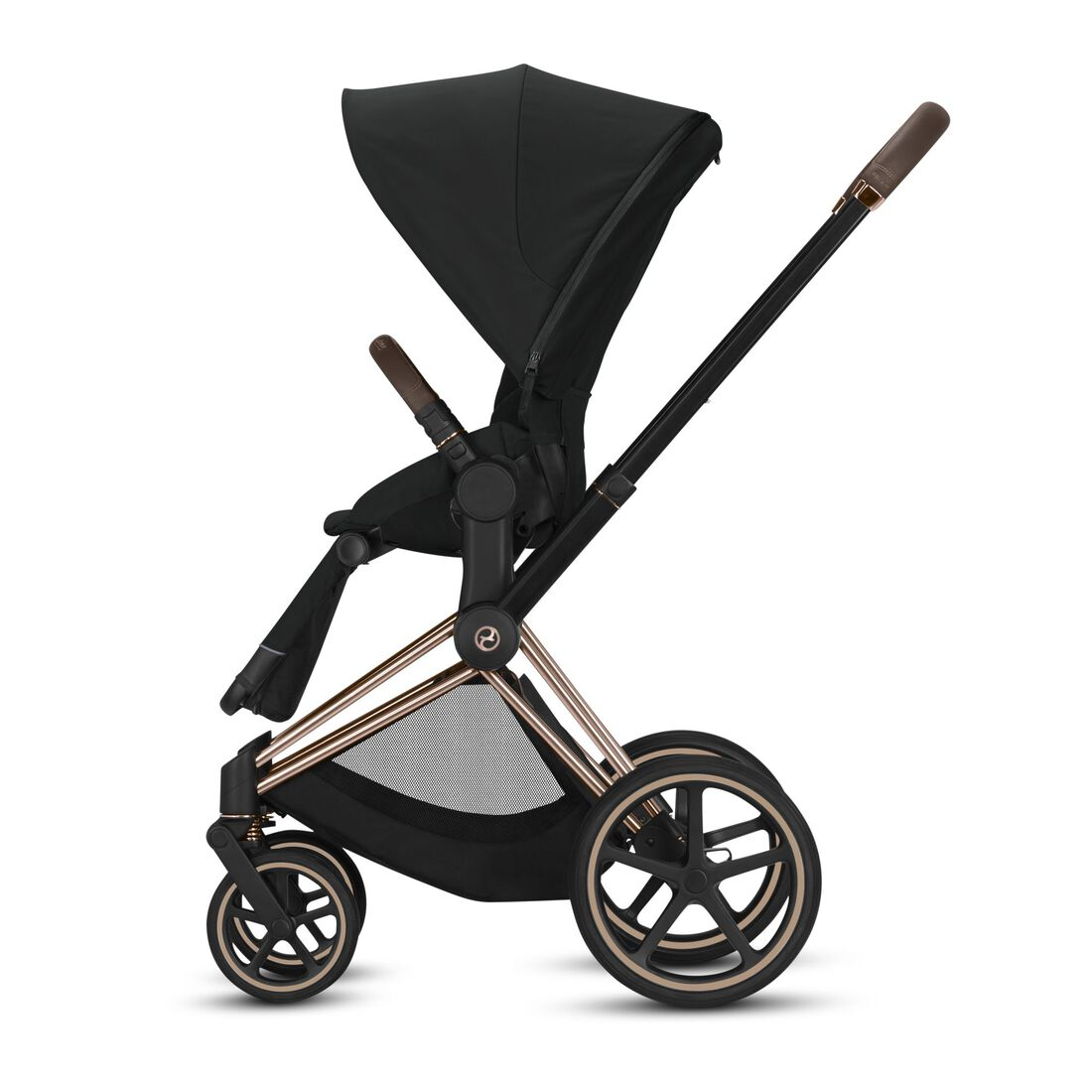 CYBEX Eezy S+ 2 – One-hand recline function into full lie-flat position