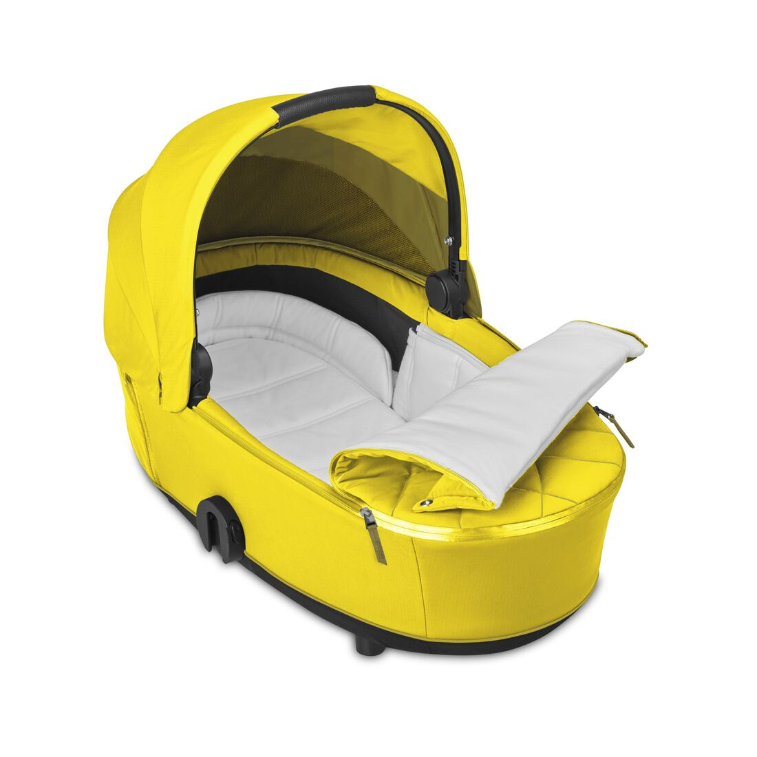 CYBEX Mios Lux Carry Cot - Mustard Yellow in Mustard Yellow large image number 2