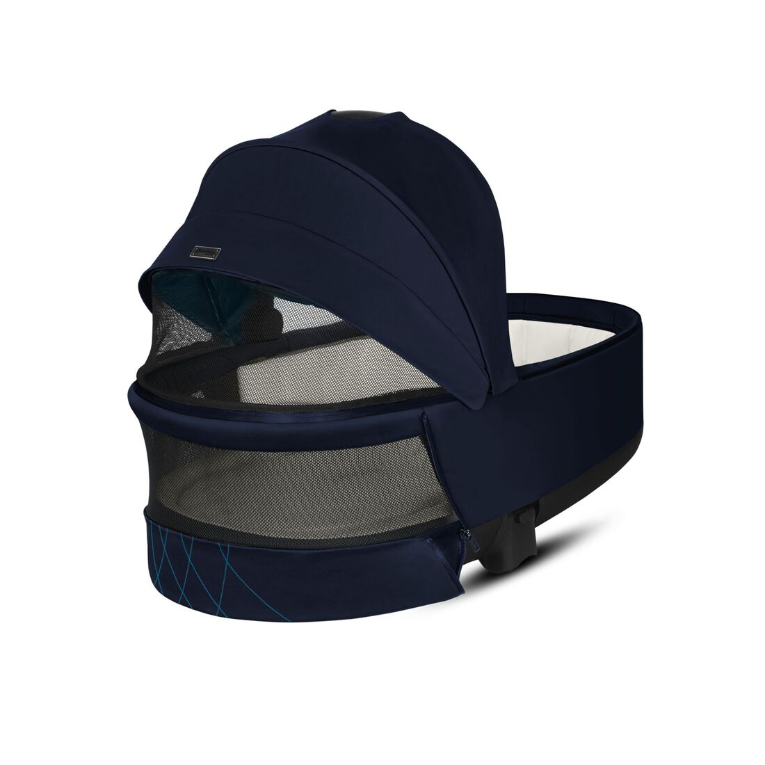 CYBEX Priam Lux Carry Cot - Nautical Blue in Nautical Blue large image number 4
