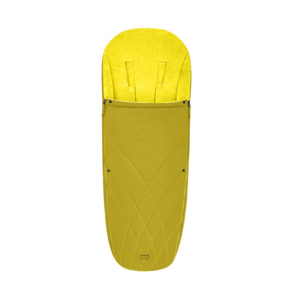 CYBEX Platinum Footmuff - Mustard Yellow in Mustard Yellow large image number 1